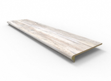 48 Quot Grizzly Bay Oak Retro Fit Tread Lumber Liquidators