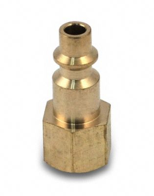 "1/4"" Brass Quick-Connect Female Coupler"