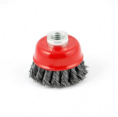 "2-1/2"" Twisted Wire Cup Brush"