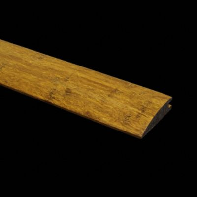 "Prefinished Carbonized Bamboo Reducer- 9/16""x 6lft"