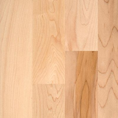 "3/8"" x 3"" Natural Maple Flooring Odd Lot"