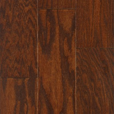 "3/8"" x 3"" Mocha Red Oak Engineered"