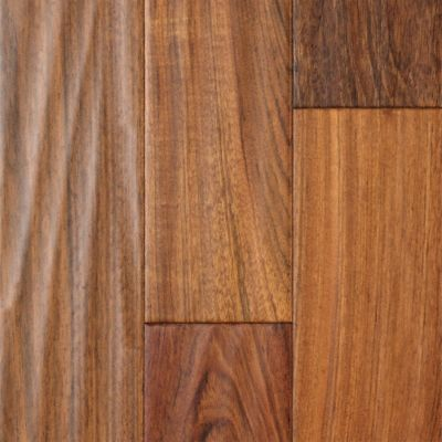 "1/2"" x 5"" Brazilian Cherry Handscraped Engineered"