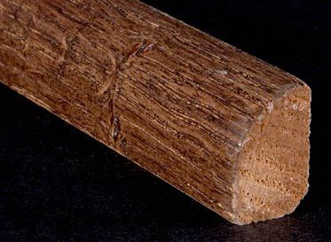 "1/2"" x 3/4"" x 6.5LFT Old World Oak Shoe Molding"