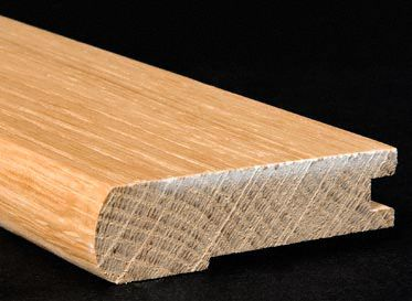 "3/4"" x 3 1/4"" x 6.5 LFT White Oak Stair Nose"