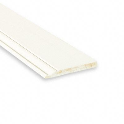 "White Primed Colonial Baseboard 9/16"" x 5-1/4"""