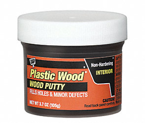 3.7 oz. Finishing Putty Ebony