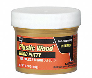 3.7 oz. Finishing Putty Oak