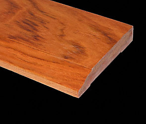 Prefinished Brazilian Cherry Baseboard