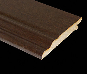 Prefinished Brazilian Walnut Veneer Baseboard