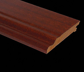 Prefinished Golden Teak Baseboard