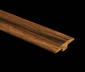 Prefinished Strand Antique Bamboo T-Molding