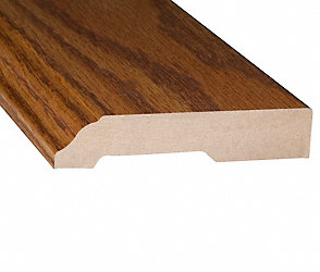 Prefinished Brazilian Tigerwood Laminate Baseboard