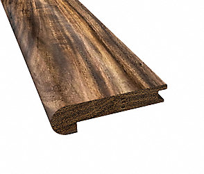 Prefinished Tobacco Road Plank Stair Nose