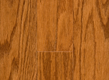 "Major Brand Cabin 3/8""x3"" Oak Quercus spp. Stained Finish Engineered"