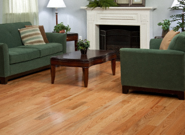 "BELLAWOOD Engineered Natural 1/2""x5"" Red Oak Quercus Alba Clear Finish Engineered"