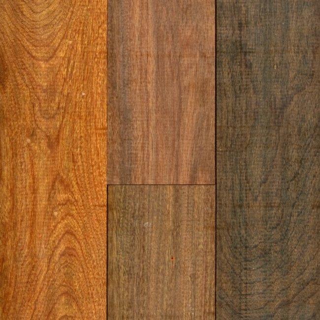 R l colston 3 4 x 5 brazilian walnut lumber for Unfinished brazilian walnut flooring