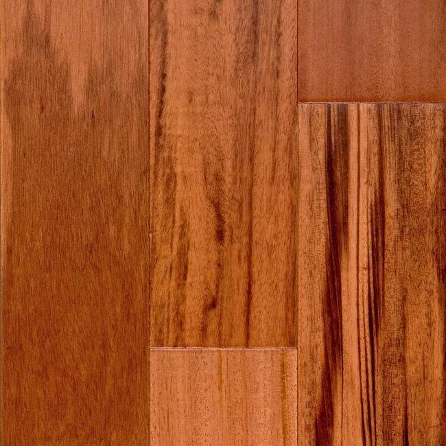Sch n 1 2 x 5 brazilian koa engineered lumber for Bellawood prefinished hardwood flooring