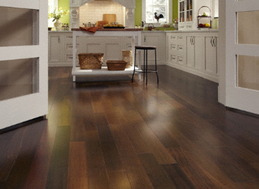 Sch�n  Natural Brazilian Walnut Tabebuia spp. Clear Finish Engineered