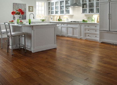 "Virginia Mill Works Engineered Clic Natural 7/16""x4 3/4"" Birch Betula Spp. Stained Finish Engineered"