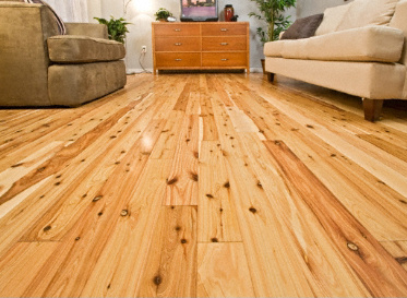 BELLAWOOD Natural Australian Cypress Callitris Columellaris 1375 Clear Finish Solid
