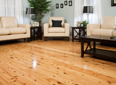 "BELLAWOOD Natural 3/4""x5 1/4"" Australian Cypress Callitris Columellaris 1375 Clear Finish Solid"