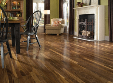 "BELLAWOOD Natural 3/4""x2 1/4"" American Black Walnut Juglans Nigra 1010 Clear Finish Solid"