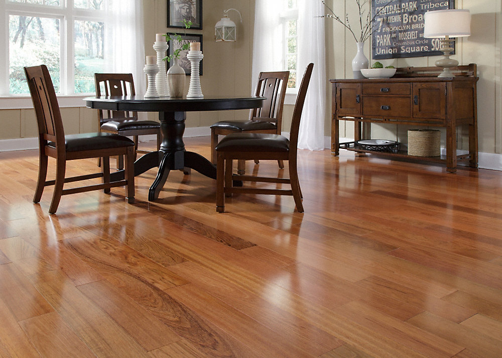 Bellawood brazilian cherry roselawnlutheran for Bellawood flooring reviews