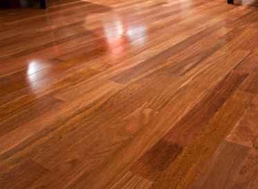 "BELLAWOOD Select 3/8""x3"" Brazilian Chestnut Bowdichia Nitida 2749-3038 Clear Finish Solid"