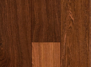 "BELLAWOOD Select 3/4""x5"" Brazilian Ebony Caesalpinia Paraquariensis 3692 Clear Finish Solid"