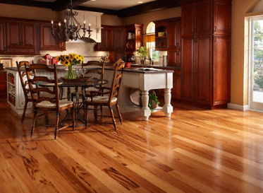 "BELLAWOOD Engineered Select 1/2""x3 1/4"" Brazilian Koa Muiracatiara Clear Finish Engineered"