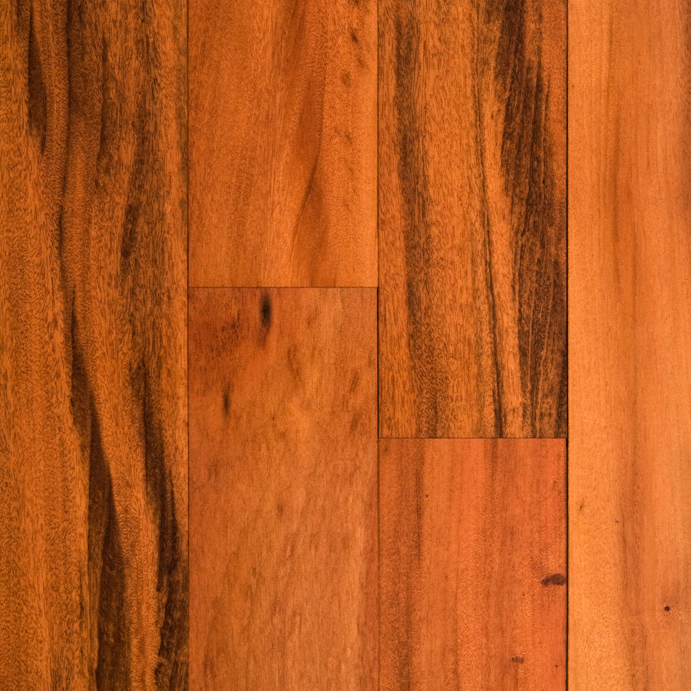 Clearance 3 4 x 3 1 4 brazilian koa bellawood for Clearance hardwood flooring