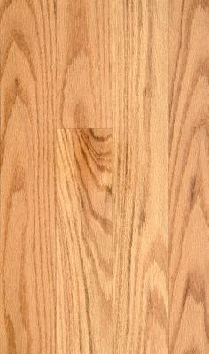 "BELLAWOOD Natural 3/4""x3 1/4"" Northern Red Oak Quercus Rubra 1290 Clear Finish Solid"