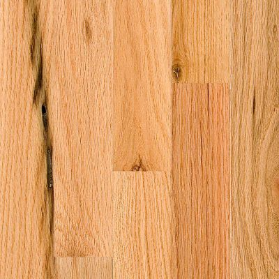"BELLAWOOD Rustic 3/4""x3 1/4"" Northern Red Oak Quercus Rubra 1290 Clear Finish Solid"