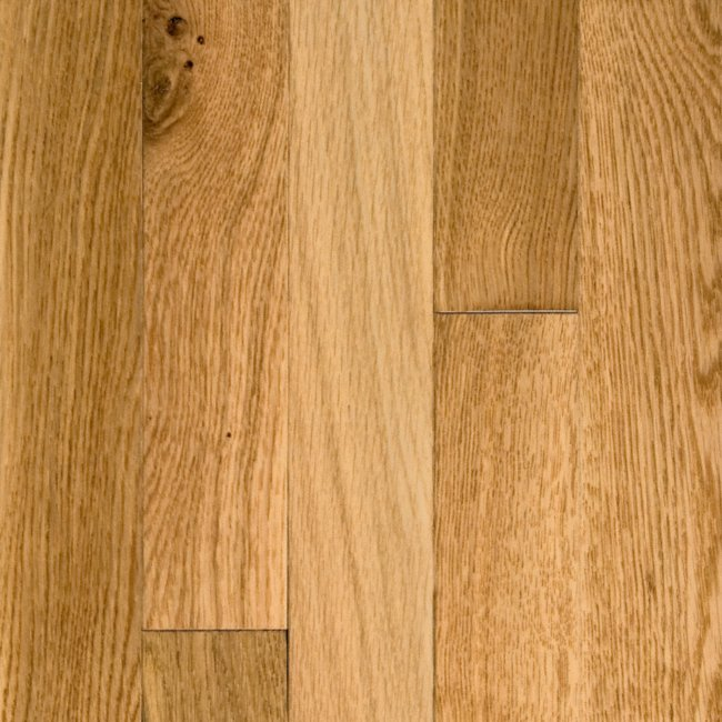 "Natural White Oak Flooring: 3/4"" X 2-1/4"" Natural White Oak :Lumber"