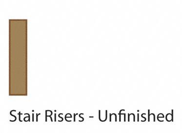 """36"""" White Oak Riser"""