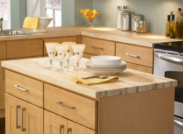 Lumber Liquidators Butcher Block Countertop in Maple