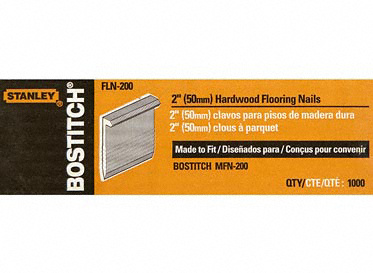 "Stanley Nails 2"" Hardwood Flooring"