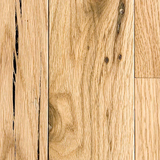 Product reviews and ratings white oak utility 3 4 x 3 for Unfinished wood flooring