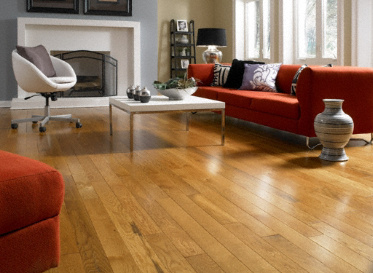 "Casa de Colour Millrun 3/4""x3 1/4"" Red Oak & White Oak Quercus Alba 1360 Stained Finish Solid"
