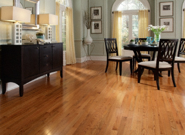 "Casa de Colour Natural 3/4""x3 1/4"" Red Oak Quercus Rubra 1335-1385 Stained Finish Solid"