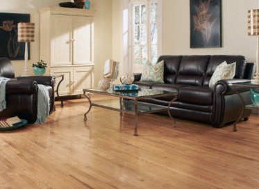 Mayflower Millrun Red Oak Quercus Rubra 1290 Stained Finish Solid