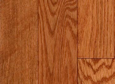 "Mayflower Millrun 3/4""x3 1/4"" Red Oak Quercus Rubra 1290 Stained Finish Solid"