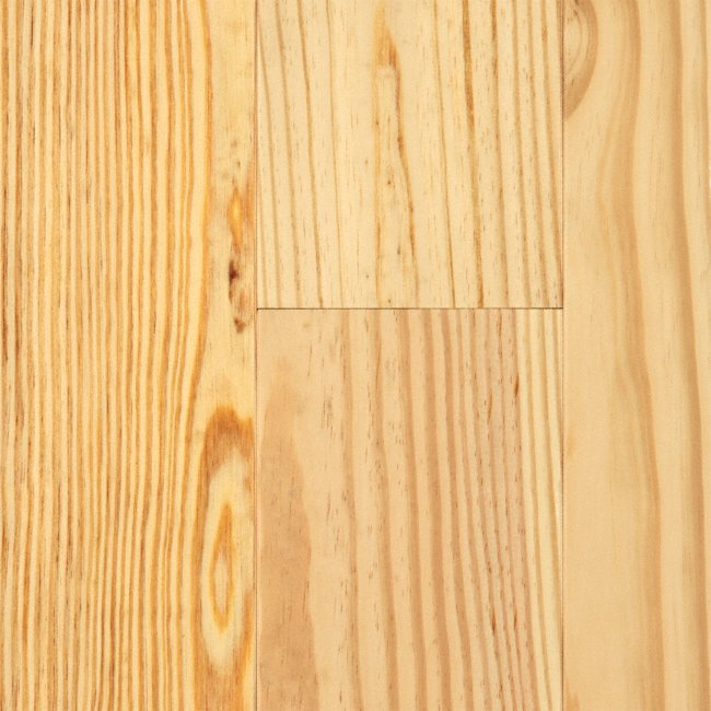 """Natural Unfinished Pine: 3/4"""" X 5"""" Natural Heart Pine :Lumber"""