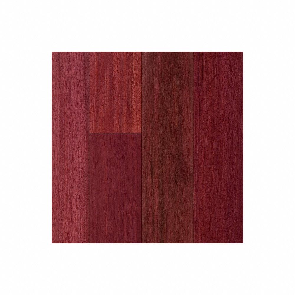 3 4 x 5 purpleheart flooring lumber liquidators for Purple heart wood flooring
