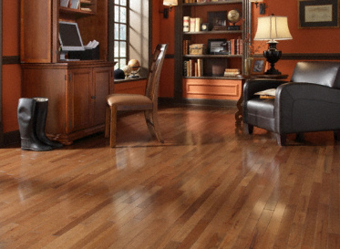"Casa de Colour Millrun 3/4""x2 1/4"" Hickory Carya 1820 Stained Finish Solid"
