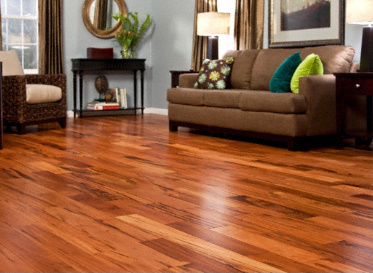 Sch�n Quick Clic Engineered Natural Brazilian Koa Astronium Fraxinifolium Clear Finish Engineered
