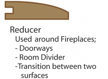 Prefinished Potomac Plank Reducer