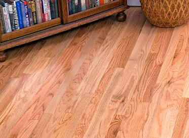 "R.L. Colston Natural 3/4""x2 1/4"" Red Oak Quercus Rubra 1290 Unfinished Solid"