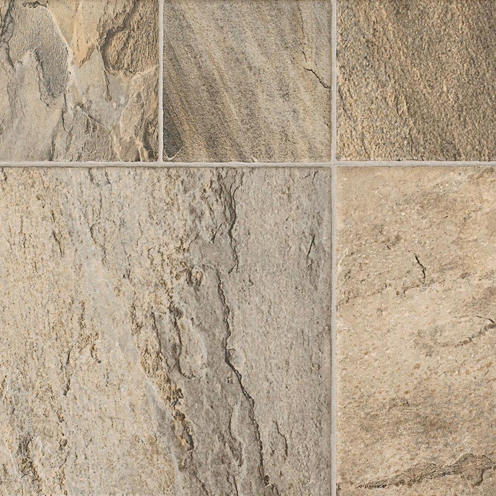 8mm tuscan stone laminate tile major brand lumber for Tuscan floors